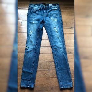 Buckle Black Skinny Jeans